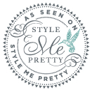 Style Me Pretty: Preppy Pink & Navy Bridal Shower