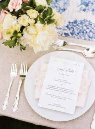 Elements of Style: A Southern Parisian Wedding