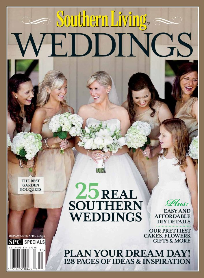 Featured In Southern Living Weddings 2013