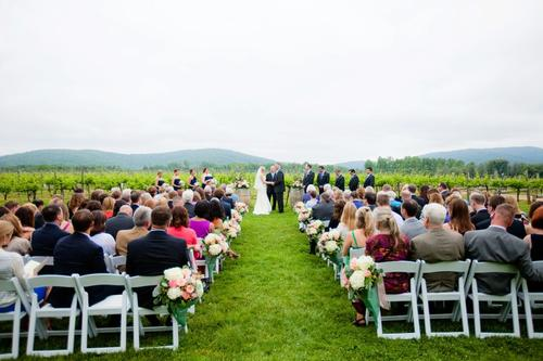 Charlottesville Winery Weddings Wedding Keswick Ceremony