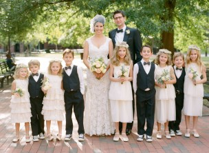 Featured on Martha Stewart Weddings: L+C's Decatur House DC Wedding