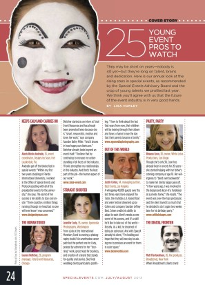 Special Events Magazine: 25 Young Event Pros to Watch