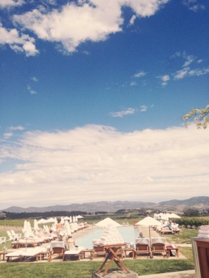 Greetings from Napa Valley: The Carneros Inn