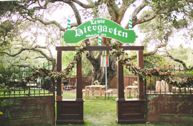 Inspired By This: Oktoberfest Backyard CA Party