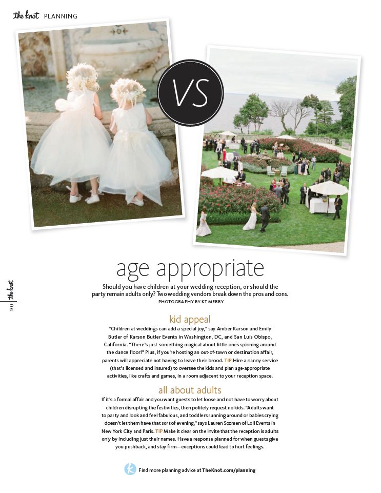 The Knot: Age Appropriate